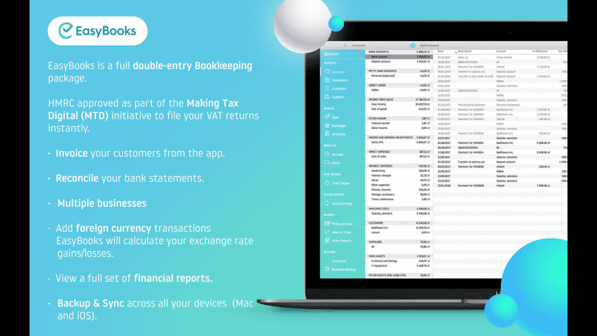 Easy Books Accounting for Mac - review, screenshots