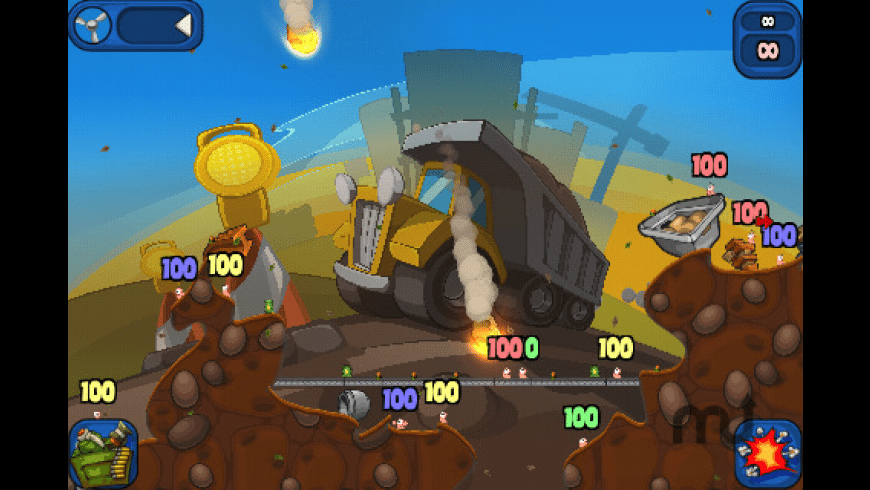 Worms 2: Armageddon for Mac - review, screenshots