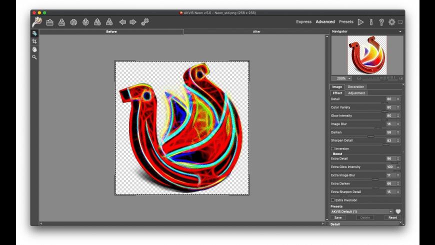 AKVIS Neon for Mac - review, screenshots