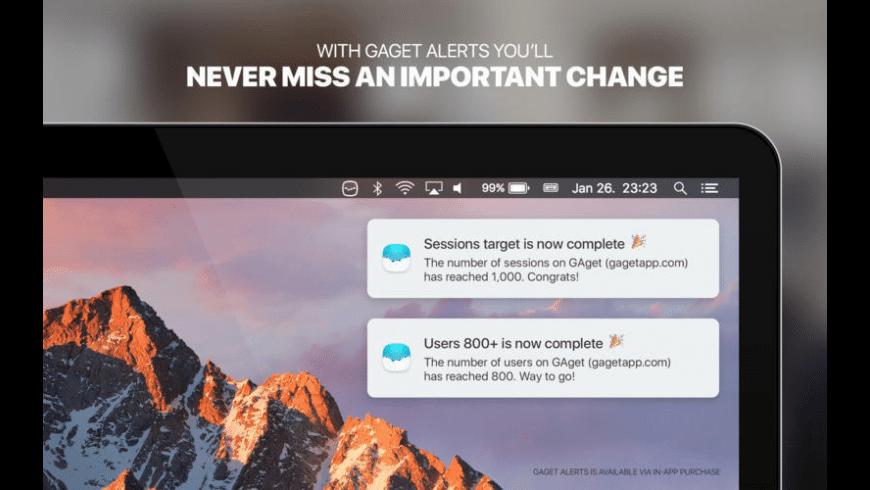 GAget for Mac - review, screenshots