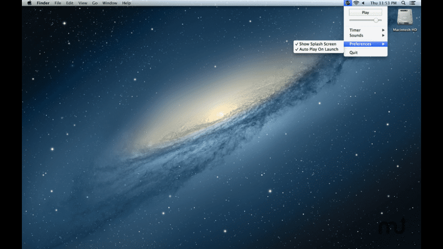 Chill for Mac - review, screenshots