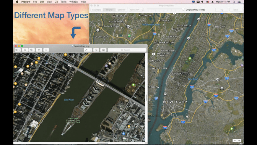 Map Snapshot for Mac - review, screenshots