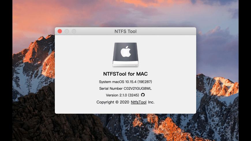 NTFSTool for Mac - review, screenshots