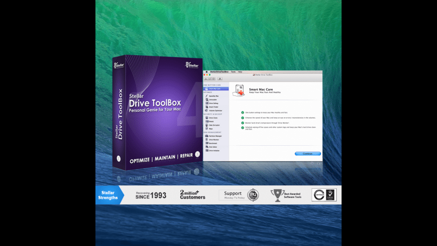 Stellar Drive Toolbox for Mac - review, screenshots