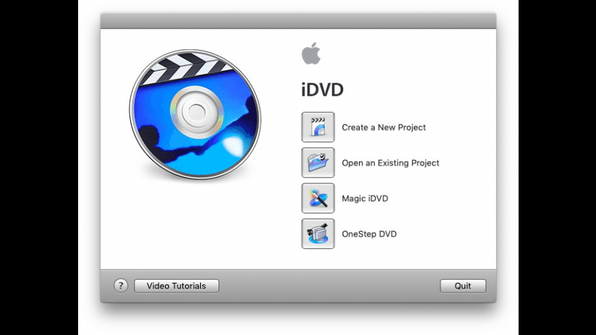 Apple iDVD for Mac - review, screenshots