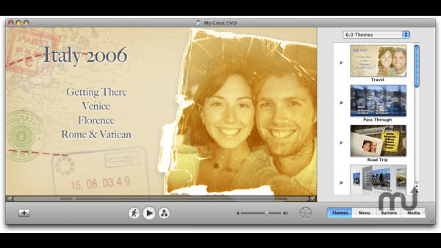 Apple iDVD for Mac - review, screenshots