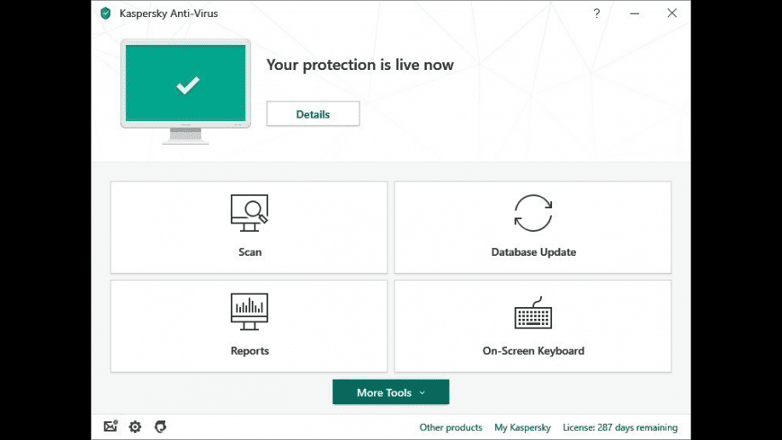 Kaspersky for Mac - review, screenshots