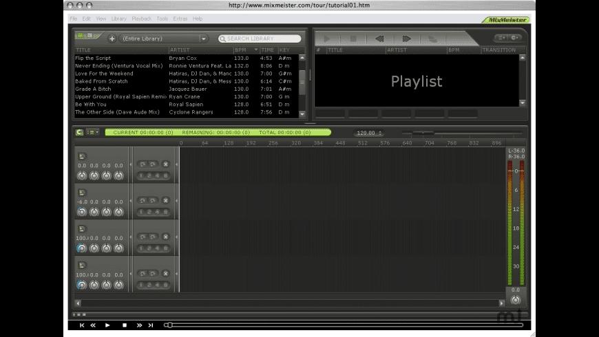 MixMeister Studio for Mac - review, screenshots