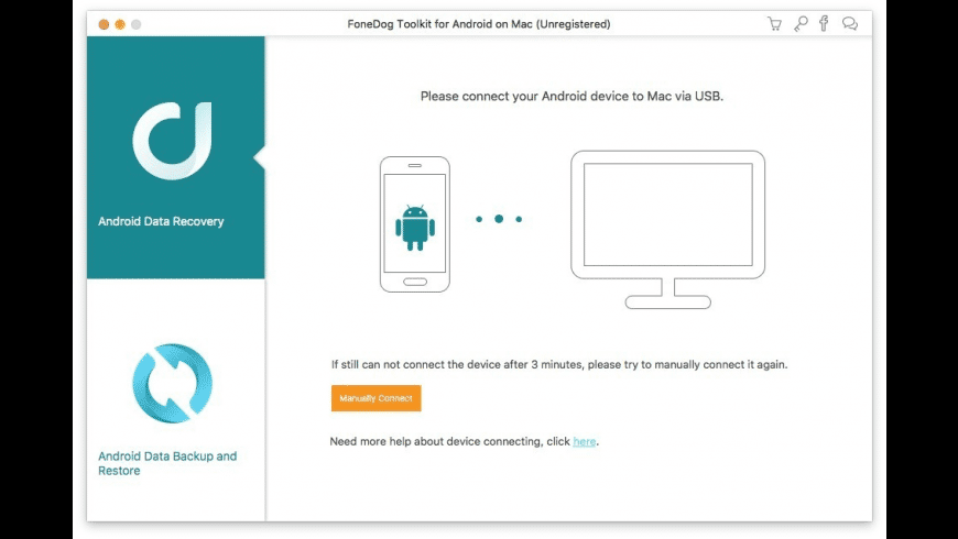 FoneDog Toolkit for Android for Mac - review, screenshots