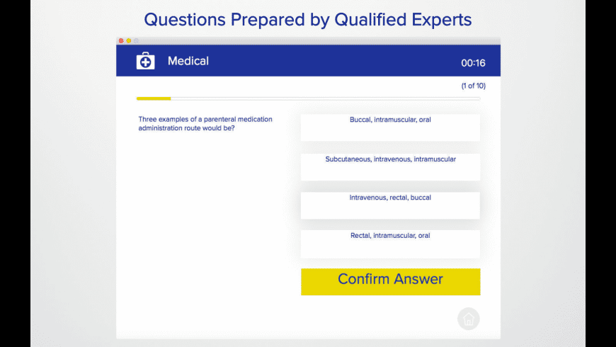 Paramedic Practice Test 2018 for Mac - review, screenshots