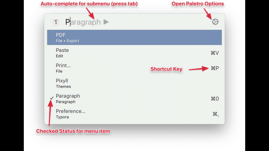 Paletro for Mac - review, screenshots