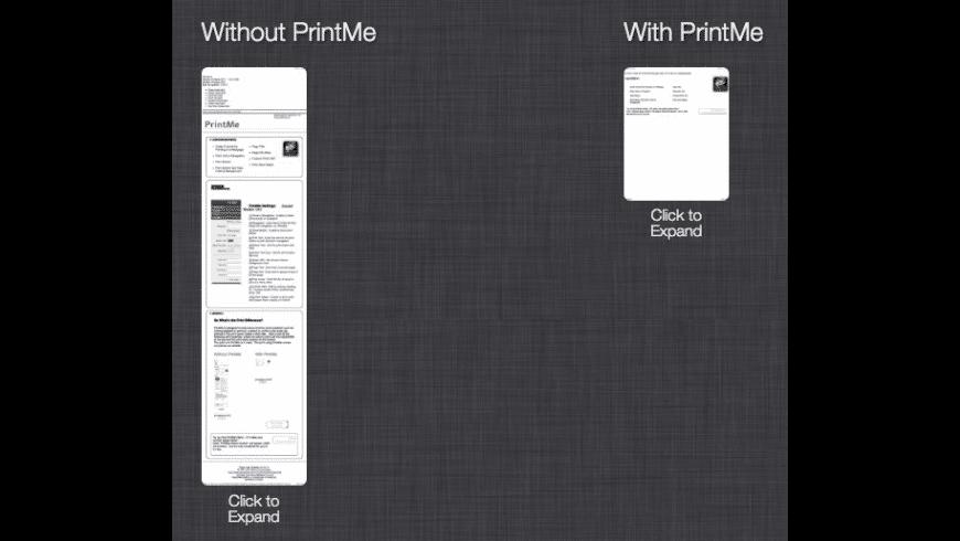 PrintMe for Mac - review, screenshots