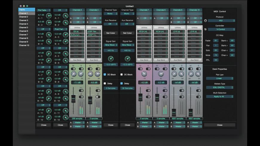 SoundDesk for Mac - review, screenshots