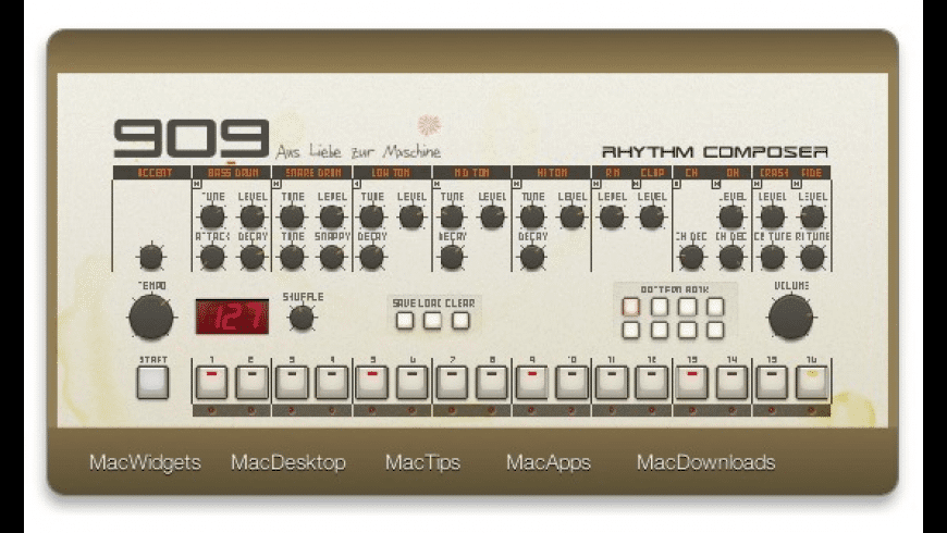 909 for Mac - review, screenshots