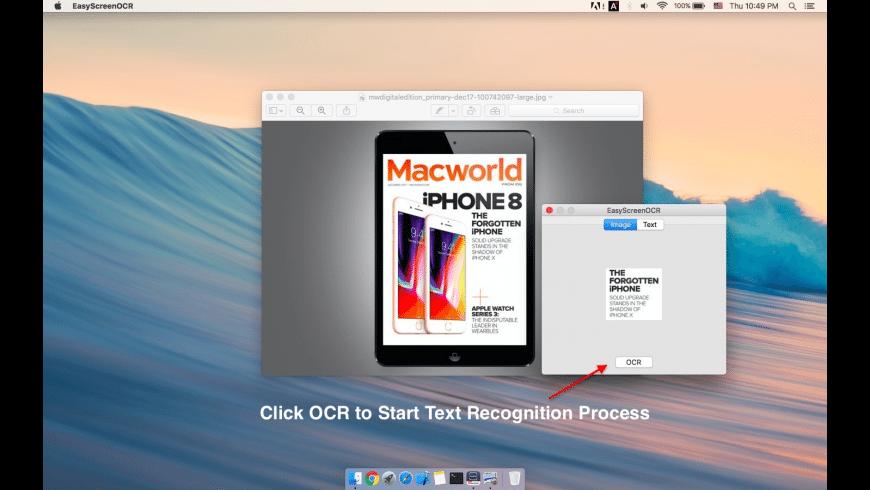 Easy Screen OCR for Mac - review, screenshots