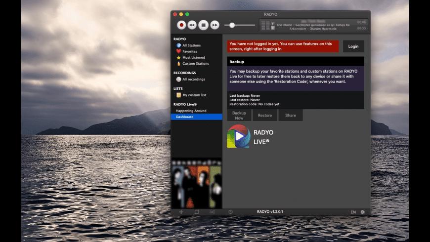RADYO for Mac - review, screenshots