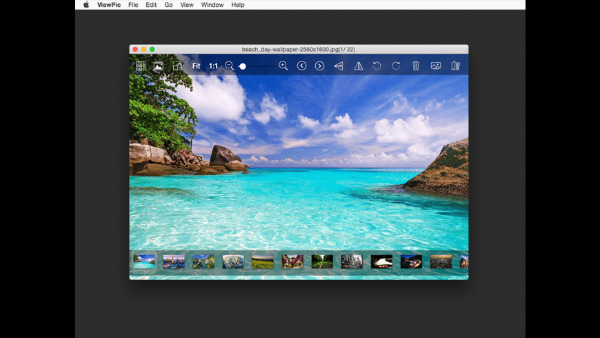 ViewPic for Mac - review, screenshots