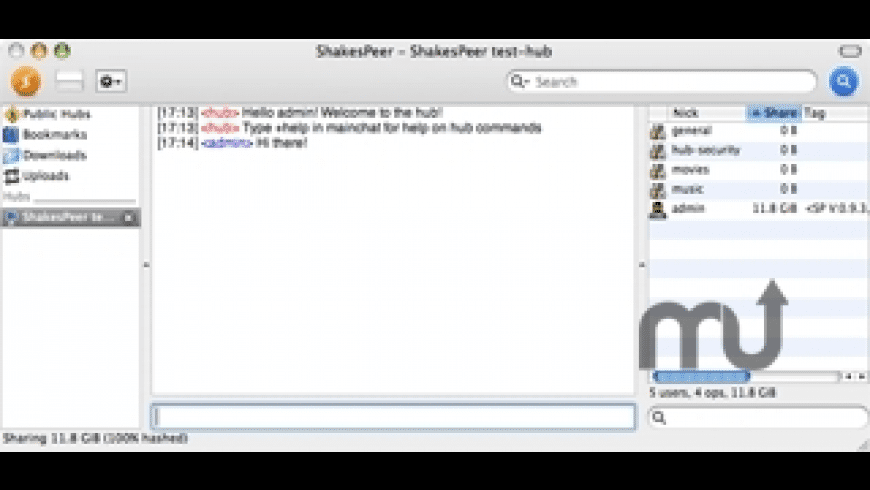 ShakesPeer for Mac - review, screenshots