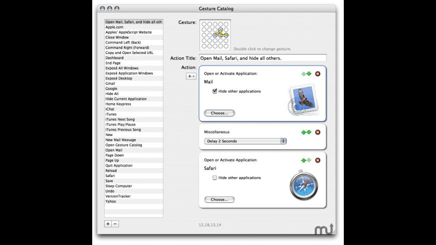FlyGesture for Mac - review, screenshots