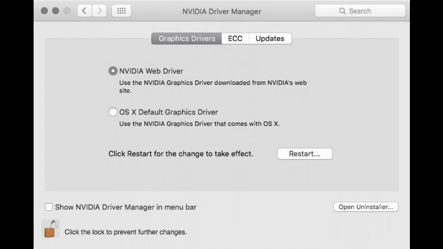 Quadro & GeForce OS X Drivers for Mac - review, screenshots
