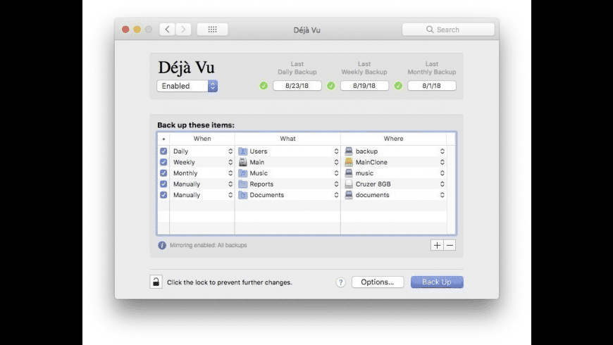 Deja Vu for Mac - review, screenshots