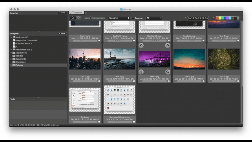Photo Mechanic for Mac - review, screenshots