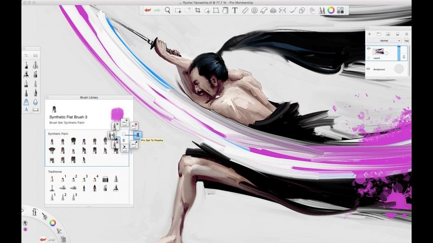 Autodesk SketchBook for Mac - review, screenshots
