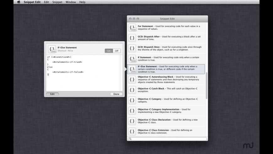 Snippet Edit for Mac - review, screenshots