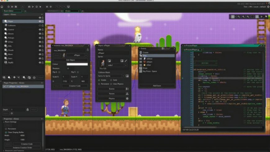 GameMaker Studio 2 for Mac - review, screenshots