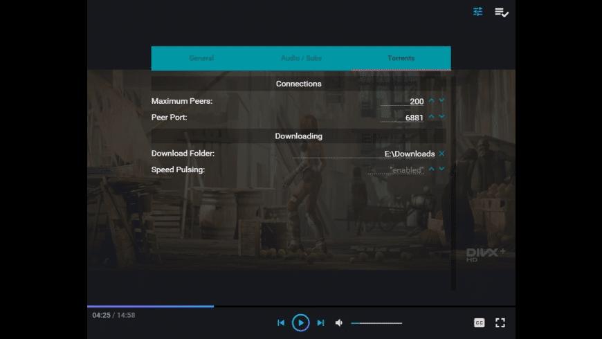 Powder Player for Mac - review, screenshots