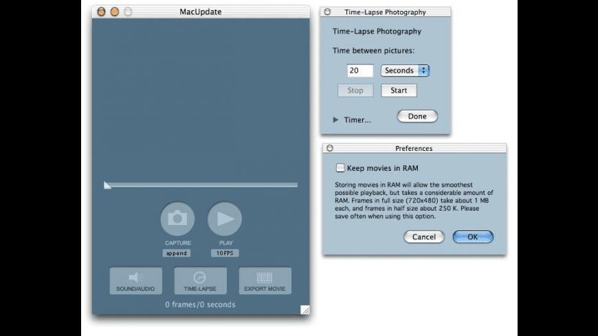 Stop Motion Studio X for Mac - review, screenshots