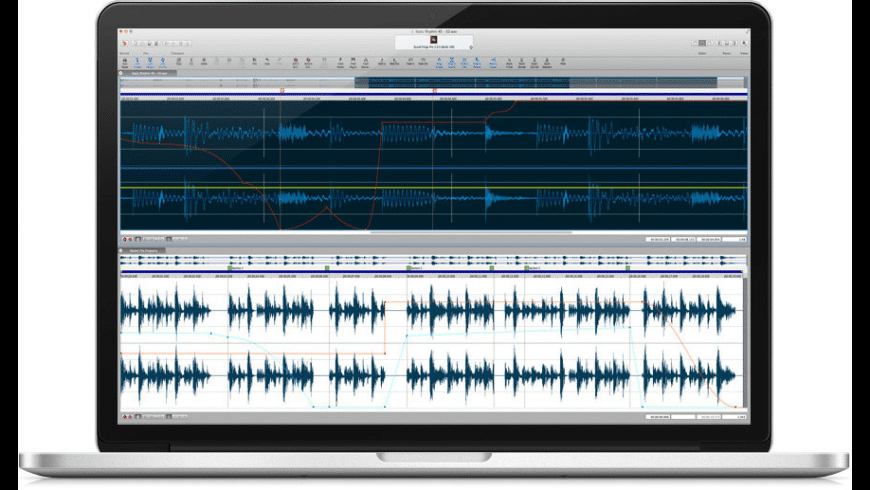 Sound Forge Pro for Mac - review, screenshots