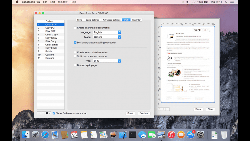 ExactScan Pro for Mac - review, screenshots