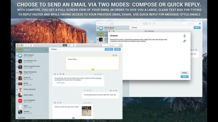 iMail for Mac - review, screenshots