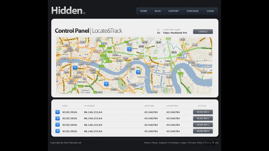 Hidden for Mac - review, screenshots