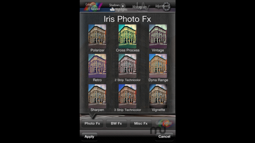 Iris Photo Suite for Mac - review, screenshots