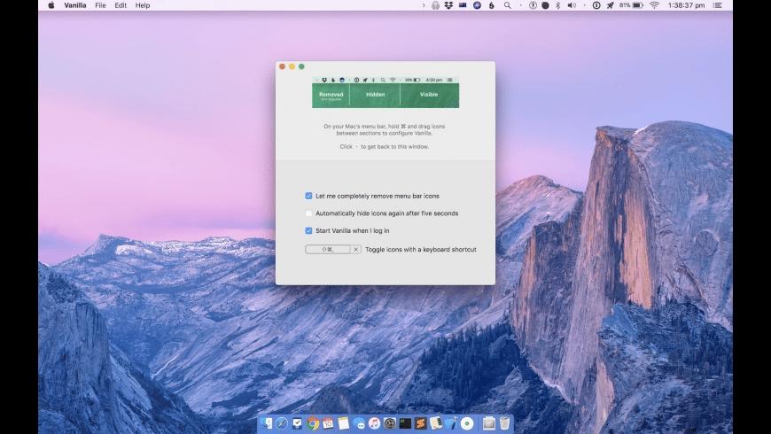 Vanilla for Mac - review, screenshots