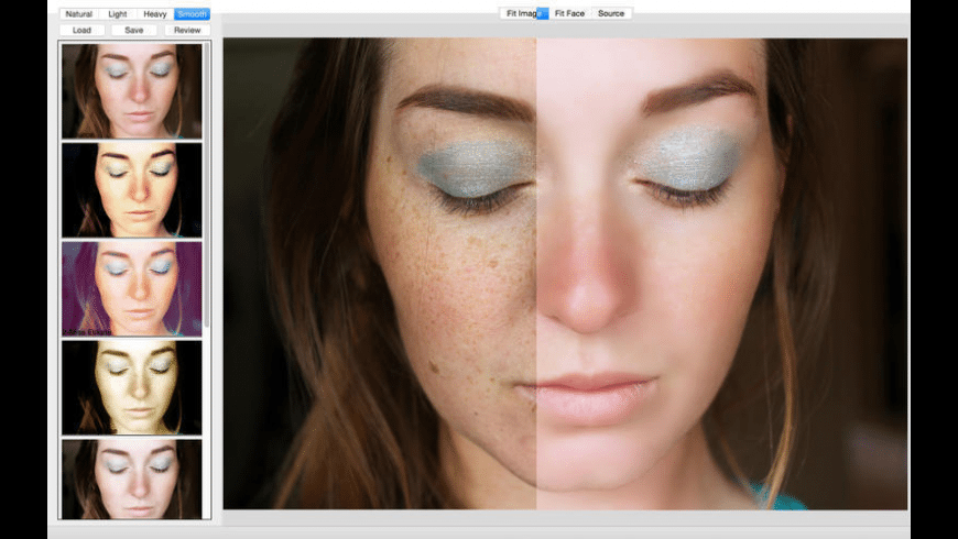 Portrait Retouching for Mac - review, screenshots