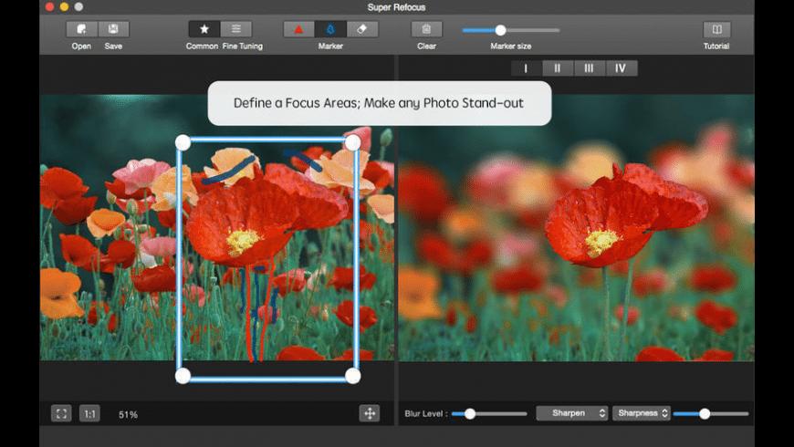 Super Refocus for Mac - review, screenshots