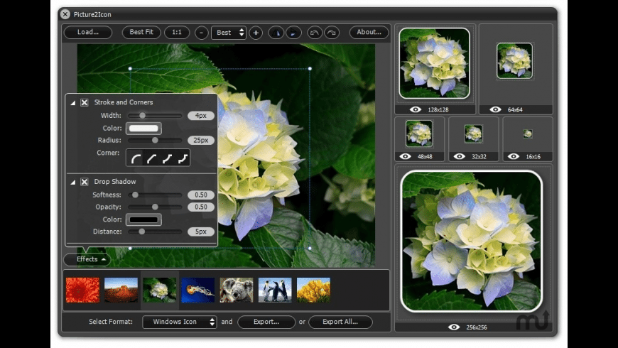Picture2Icon for Mac - review, screenshots