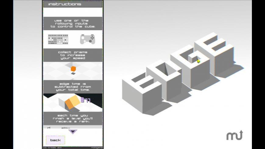 EDGE for Mac - review, screenshots