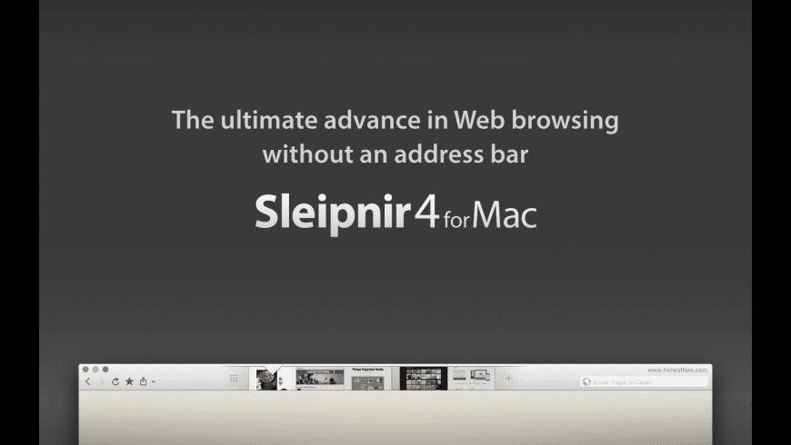 Sleipnir for Mac - review, screenshots