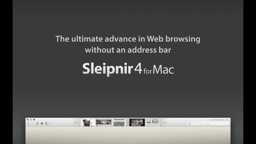Sleipnir for Mac - review, screenshots