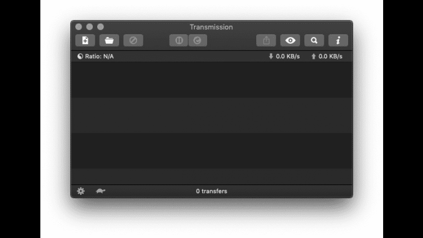 Transmission for Mac - review, screenshots
