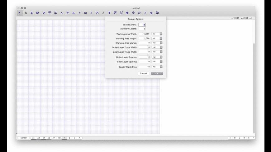 Osmond PCB for Mac - review, screenshots