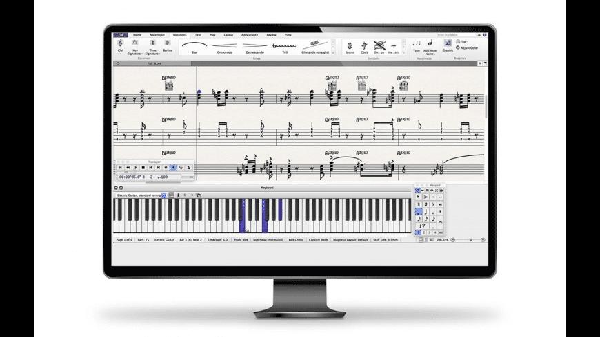 Sibelius for Mac - review, screenshots