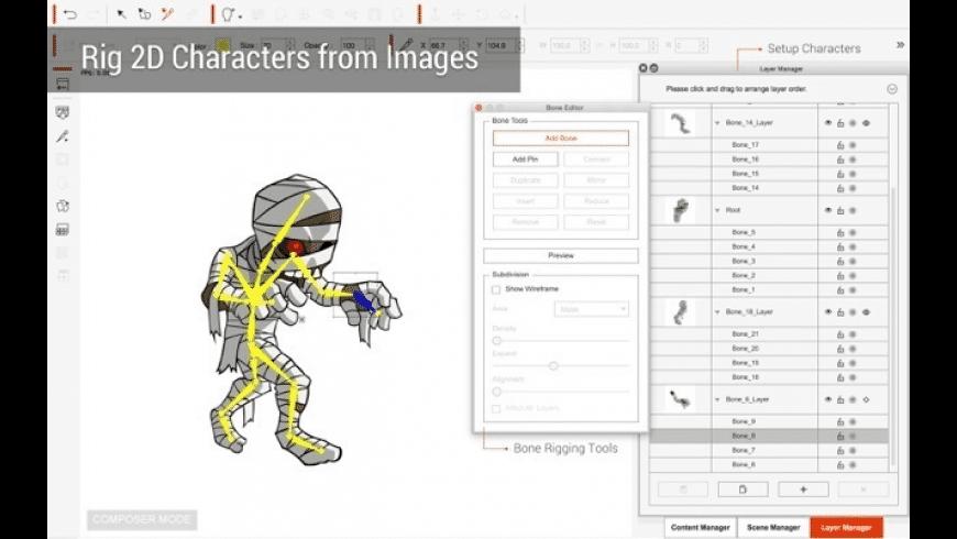 CrazyTalk Animator Pro for Mac - review, screenshots