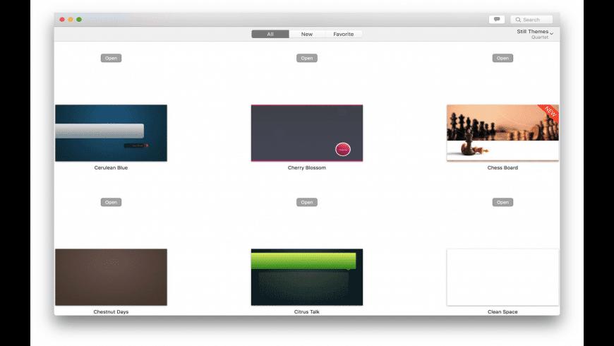 Quartet Expert for Mac - review, screenshots