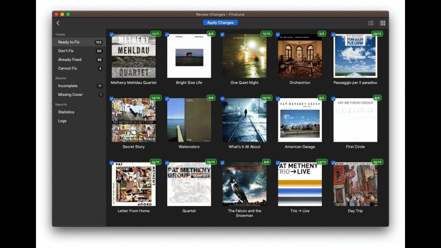 Finetune for Mac - review, screenshots