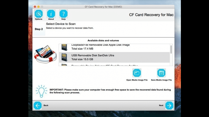 CF Card Recovery for Mac - review, screenshots